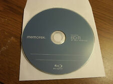 1 x  Memorex 25 GB 6x BD-R Blu-ray with paper sleeve  ***  SAVE on Combined Ship