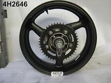HONDA CB 900 HORNET 2007 COMPLETE REAR WHEEL GENUINE  17X5.5 STONE CHIPS 4H2646