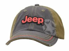 Jeep Cap, Kappe Stone Washed Black and Olive Jeep® Cap