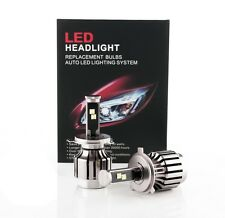 Xenon White Cree Chip 80W 7200LM LED Headlight Kit H4 9003 Hi/Lo Dual Beam Bulbs