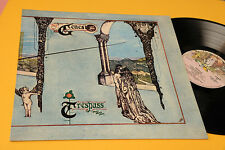 GENESIS LP TRESPASS ORIG ITALY 1972 NM !!!!!!!!!!!!! COPERTINA LAMINATA