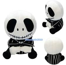 The Nightmare Before Christmas Jack Skellington Plush Stuffed Doll 20cm Toy Hot
