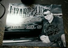 Bobby Brantley Autographed Lizard Lick Towing 8 X 10 Photo