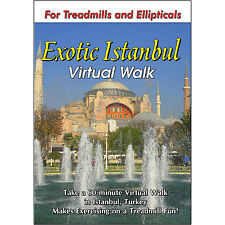 ISTANBUL TREADMILL DVD WALKING TOUR  SCENERY VIDEO EXERCISE FITNESS WEIGHT LOSS