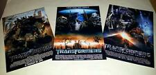 "TRANSFORMERS SET OF 3 CAST PP SIGNED 12""X8"" POSTERS SHIA LABEOUF"