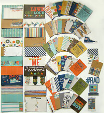 Simple Stories Snap  [So Rad] Double-Sided Cards   (72 Pack)   Save 50%