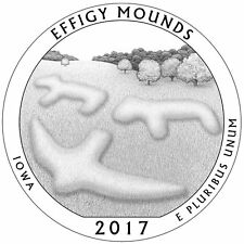 2017 IOWA S Mint Effigy Mounds National Park Quarter **Now in Hand**