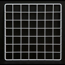 "Set 10 Mini 14 x 14"" Black Wire Grid Storage Cube Closet Garage Organizer Panels"
