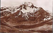 Tyndrum, Stirling - Ben Lui (mountain) - real photo postcard c.1940s