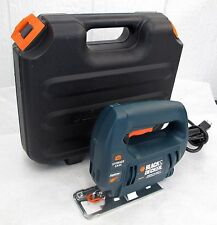 Black & Decker Quick Clamp JS300 Variable Speed Corded Jig Saw & Hard Case