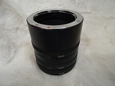 made japan NEW  12mm, 20mm, 36mm Extension Tubes - OLYMPUS OM Fit *EXCELLENT* OM