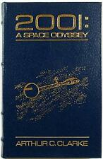 2001: A SPACE ODYSSEY ~ ARTHUR C. CLARKE ~ EASTON ~ LEATHER BOUND GIFT ED COBALT