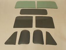 1951 1952 1953 CHEVROLET TRUCK WINDSHIELD SIDES BACK SMOKE GLASS 9PC SET NEW