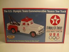 Tow Truck 1955 Chevy 3100 Texaco Matchbox Certificate of Authentic MIB