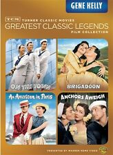 TCM GREATEST LEGENDS GENE KELLY New 4 DVD Anchors Aweigh On the Town Brigadoon