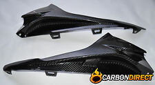 BMW S1000RR 100% CARBON FIBRE TOP SIDE INFILL PANELS GLOSS TWILL 2015 - 2016