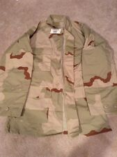 FREE SHIP EXTRA SMALL REG ARMY MILITARY COMBAT DESERT CAMO COAT 8415-01-327-5298