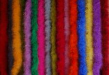 10 MARABOU FEATHER BOAS 2 Yards 15 Grams MANY COLORS To Choose (Halloween/Craft)