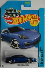Hot Wheels - Porsche Panamera blaumet. Neu/OVP US-Card
