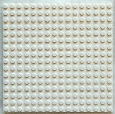 NEW WHITE LEGO PLATE 5x5 inch (16X16 dot/stud) floor roof platform base board