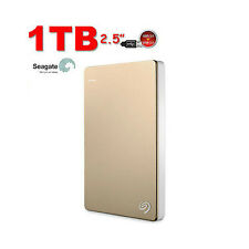 "HARD DISK ESTERNO 1TB 2.5"" USB3.0 SEAGATE Backup Plus SLIM HDD  Gold"