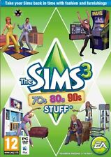 The Sims 3: 70s, 80s and 90s Stuff (PC DVD) New Sealed Free P&P UK
