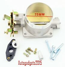 Professional Polished Throttle Body Direct Bolt For Ford Mustang 4.6L 2V 75MM