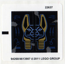 LEGO 7327 - PHARAOH'S QUEST - Scorpion Pyramid - STICKER SHEET