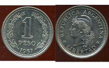 ARGENTINE 1 peso 1957