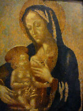 RENAISSANCE GEMÄLDE * MARIA mit CHRISTUS * MARIA LACTANS* 16. Jh!