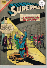 superman 595 spanish mexican comic novaro