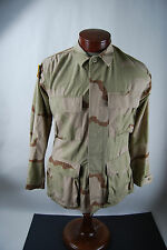 U.S. Military Combat Desert Camo Jacket With Flag Patch - Adult X-Small