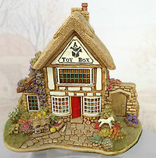 Lilliput Lane The Toy Box cw Box & Deeds - Excellent