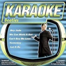 FREE US SH (int'l sh=$0-$3) NEW CD : Karaoke: Beatles Karaoke