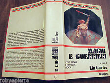 FANUCCI Enciclopedia della Fantascienza MAGHI E GUERRIERI Lin Carter 1981 vendo