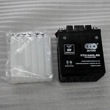 YTX14AHL-BS Motorcycle Battery for Honda CX500, C, D, T FT500 Ascot GL500
