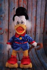 "Disney Store 18"" Uncle Scrooge Duck Tales Plush with Top Hat & Cane Exclusive"