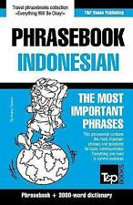 English-Indonesian Phrasebook and 3000-Word Topical Vocabulary by Andrey...