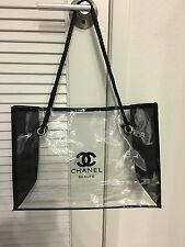Chanel Large Clear Tote VIP Gift Bag