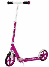 Razor A5 Lux Adult KIds Folding Kick Scooter Pink w/ Kick Stand SAME DAY SHIP