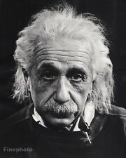 1947 Vintage 16x20 ALBERT EINSTEIN Physics Science Photo Art By PHILIPPE HALSMAN