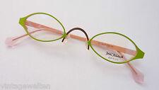 J. Jazawa freche Minibrille extraklein Lesebrille grasgrün Fassung Eyecatcher S