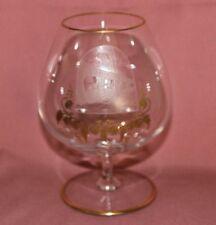 VILLEROY BOCH VB Josephinenhütte 1 Cognacglas Ø6,4 H14,7 Gravur Weinfässer 10238