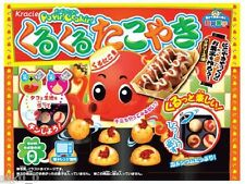 KRACIE Happy Kitchen KURU KURU TAKOYAKI / Japanese candy / Popin Cookin series