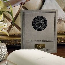 The Story Of Us Personalized Wedding Guest Book