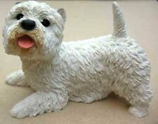 CASTAGNA DOG FIGURINES -WEST HGHLAND TERRIER, TAIL UP, ITEM 0633