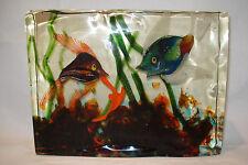 Wunderschönes 4,55 Kilo Glas Aquarium Murano 50 / 60er Cenedese Vetreria Design