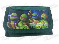 Nickelodeon Teenage Mutant Ninja Turtles TMNT Teen Boys Tri-Fold Wallet - Green