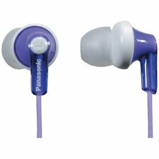 Panasonic RP-HJE120-V / RPHJE120V In-Ear Earbud Headphones, Violet