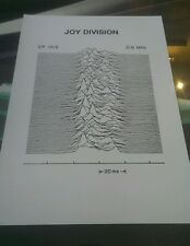 Joy Division rare promotional A3 super quality heavy canvas paper print poster